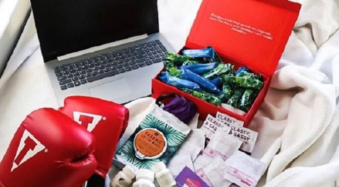 MOMpreneur Monday: Bloodbox Luxury Subscription Box