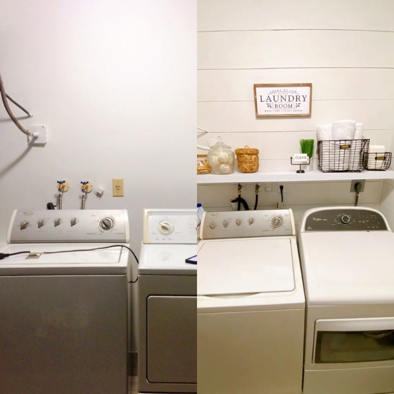 Boca Raton laundry room makeover