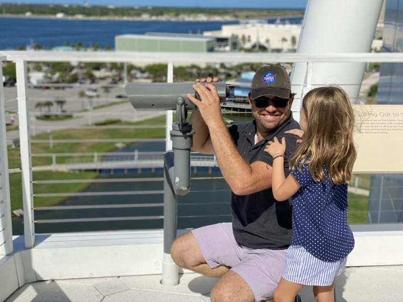 Space Coast family road trip
