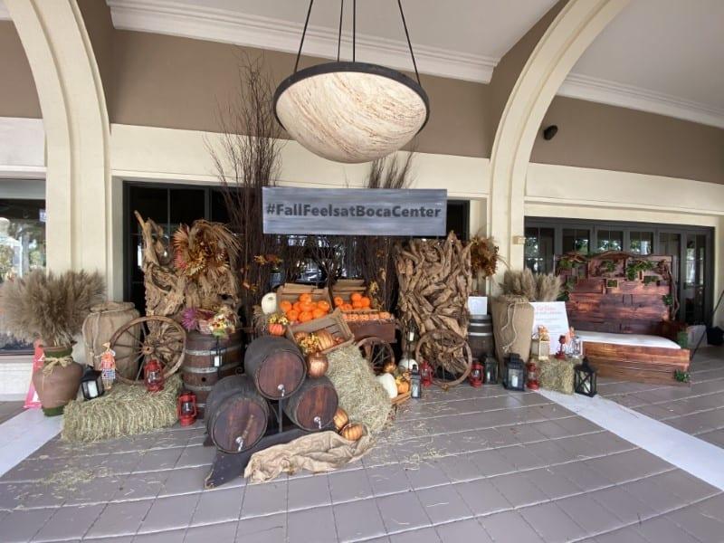 Fall activation at Boca Center