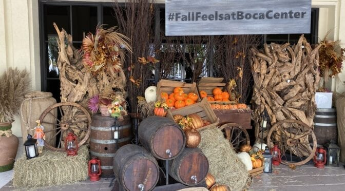 Enjoy Fall at Boca Center with Your Family With These Fun Activations