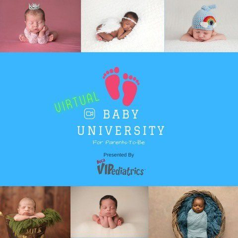 Boca moms-to-be in a Pandemic Baby University
