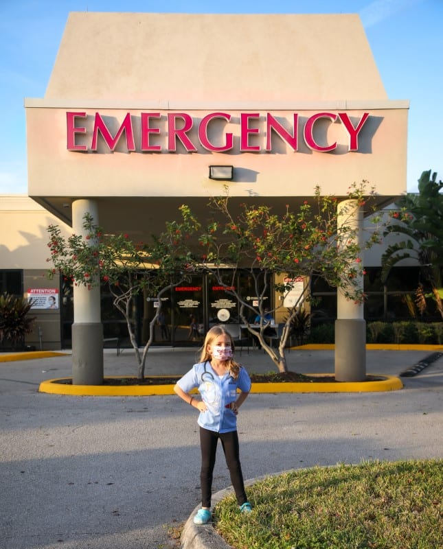Where is a pediatric ER in Boca Raton?